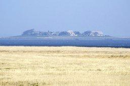 Langeness, l'île où le ciel se mire