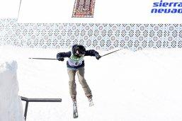 Mathilde Gremaud en finale des mondiaux