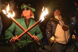 Le défilé nocturne du Carnaval des Bolzes
