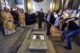 Le retour de l'abbé Pierre Kaelin dans sa cathédrale