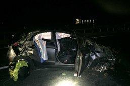 Une conductrice blessée après s'être endormie au volant