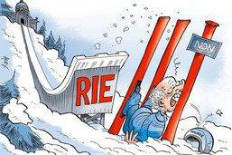 Ueli Maurer rate le lancement de la RIE III