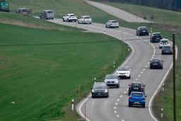 Le tracé de la route Marly-Matran est connu