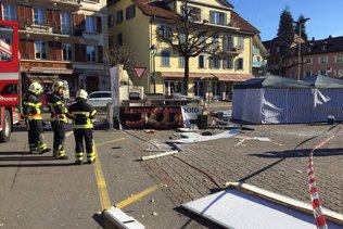 Explosion d'un stand de nourriture