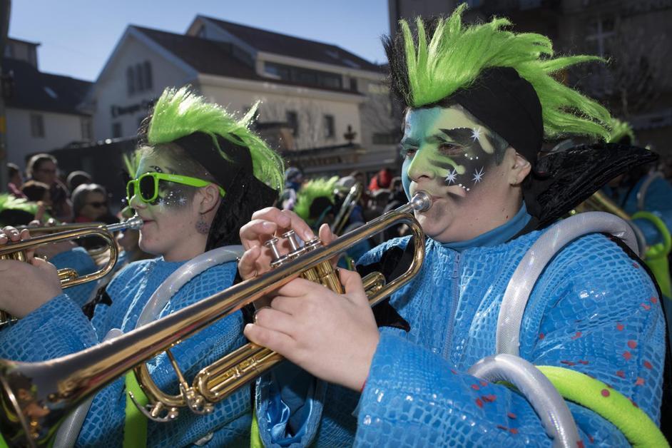 L'édition 2017 du Carnaval de Bulle