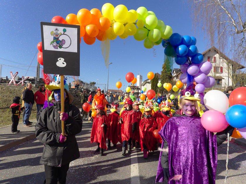Carnaval de Courtepin, millésime 2017
