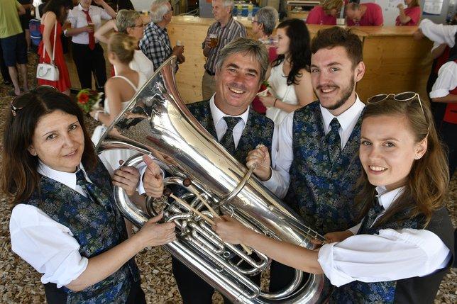 La musique, une histoire de famille