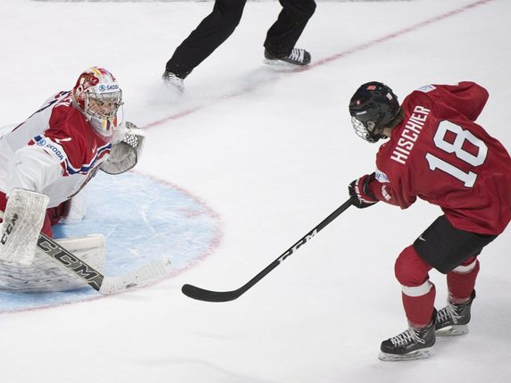Nico Hischier: pas de Mondiaux à Paris © KEYSTONE/AP The Canadian Press/GRAHAM HUGHES