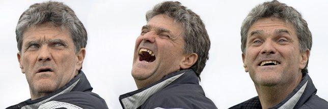 Pierre-Alain Schenevey: «Honnêtement, je préférerais obtenir la promotion ce week-end que de devoir la jouer la semaine prochaine contre Bulle.»  © Alain Wicht