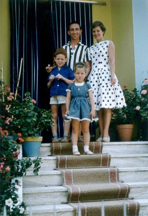 Une famille romande dans les années 1960.  © DR