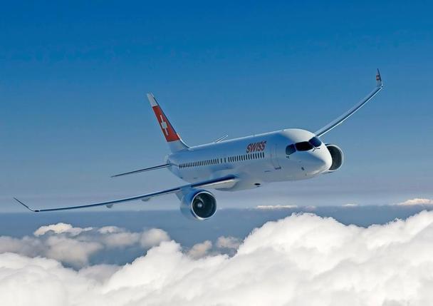 Le nouveau Bombardier CS300 de Swiss lui permettra de réduire ses coûts de 20% par rapport à l'exploitation de sa flotte actuelle.  © Bombardier
