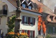 Une action de solidarité après l'incendie à Payerne