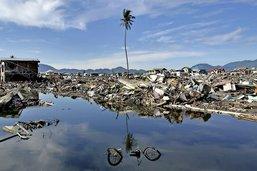 Le tsunami a noyé la guerre civile