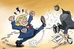 Trump vire le patron du FBI, qui enquêtait sur sa campagne