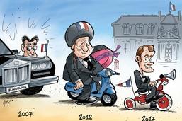 Emmanuel Macron, la jeunesse au pouvoir