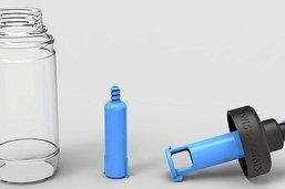 Une innovation pour améliorer sa gourde