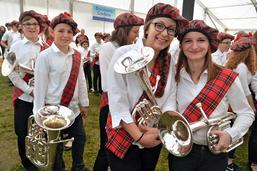 Concert des jeunes du 35e Giron des musiques gruériennes