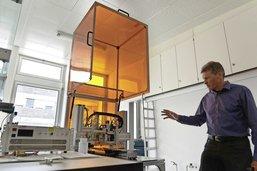 Des laboratoires dédiés au jet d'encre