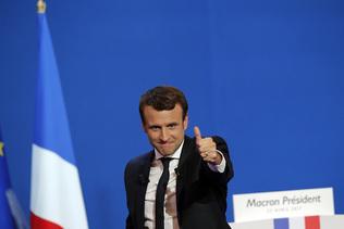 Les Français du canton ont plébiscité Emmanuel Macron