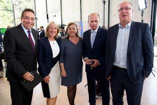 Les cinq sortants réélus au Conseil d'Etat vaudois