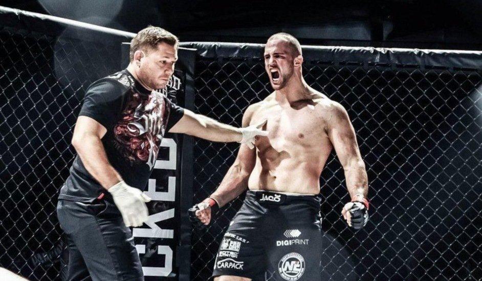 Volkan Oezdemir confirme en beauté à l'UFC