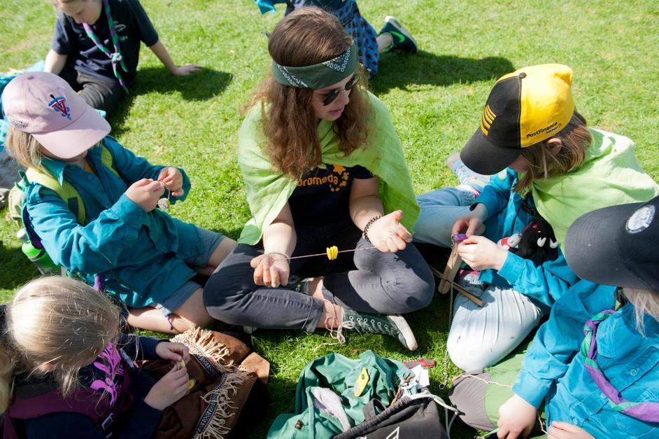 Journée annuelle des scouts fribourgeois