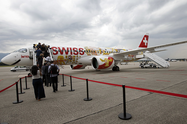 Le nouvel avion de Swiss a déjà eu deux pannes