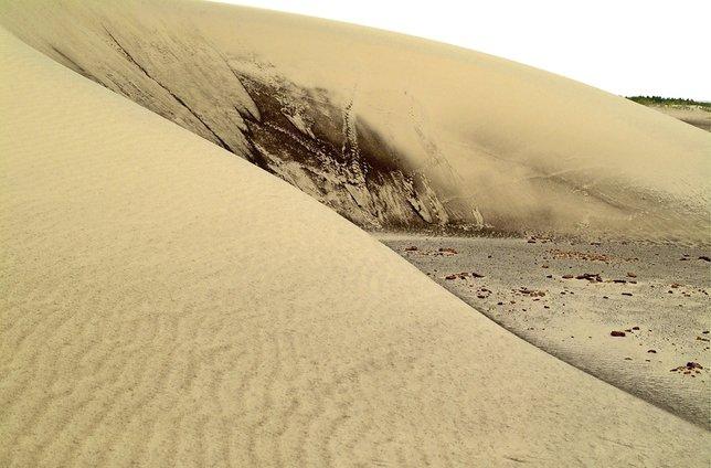 Le sable est une ressource à respecter autant que l'eau.  © DR