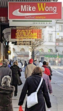 La chaîne de restauration asiatique est installée à Fribourg depuis 2009.  © Vincent Murith
