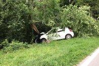 Automobiliste blessée après un malaise