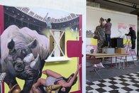 Le rhinocéros, star du musée et de Bollywood