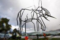 Un éléphant signé Dominique Andreae atterrit à Montreux