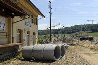 Le trafic reprend en partie sur la ligne Fribourg-Anet