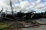 Un rural entièrement détruit par le feu à La Corbaz