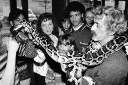 Une vie au service des serpents