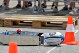 Ces robots qui jouent au rugby