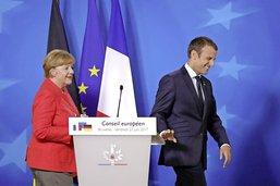 Merkel et Macron superstars