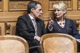 Succession Burkhalter: les trois candidats débattront à Fribourg