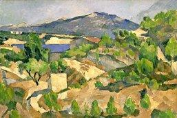 Paul Cézanne haut en couleur