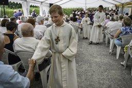 Plus de 600 pèlerins à la Grotte de Lourdes à Grandvillard