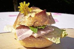 La bénichon dans un hamburger