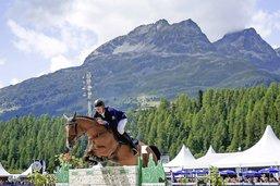 Jufer 3e du Grand Prix 5 étoiles de Saint-Moritz