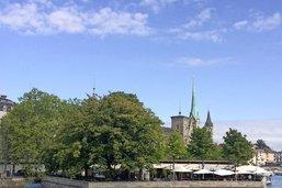 Zurich, avec le calosse dans le sac