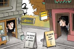 La vie des petits commerces fribourgeois