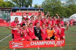 Les Juniors A du Team La Gruyère sacrés champions de Suisse