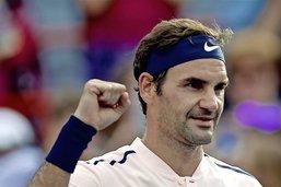Roger Federer rectifie le tir