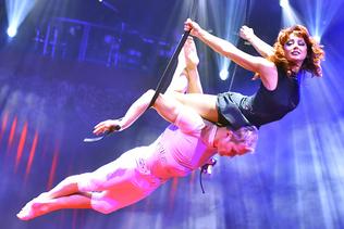 Lucerne: chute de près de 5 mètres d'une acrobate au Cirque Knie