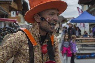 Un festival d'artistes de rue à Charmey