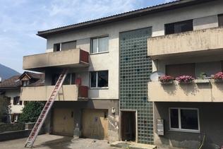 Homme gravement brûlé dans un appartement en feu à Zizers (GR)