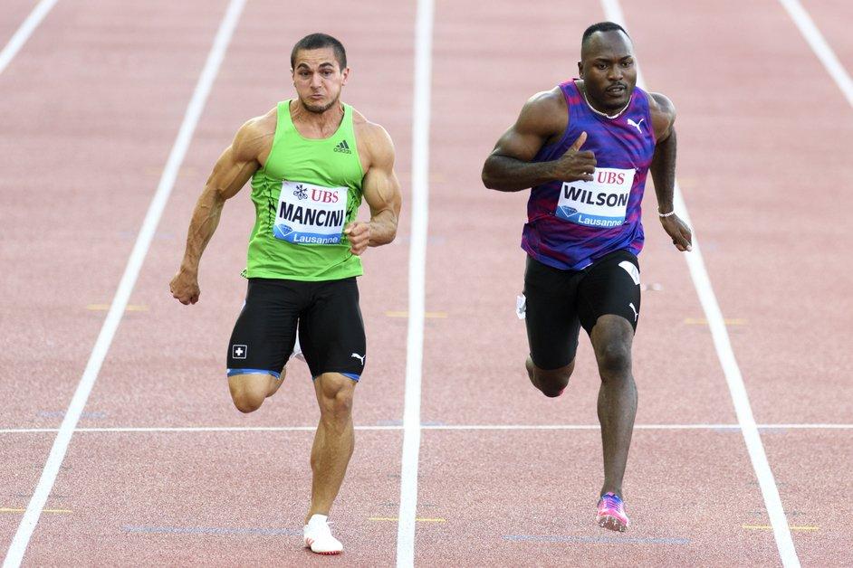Pascal Mancini vice-champion de Suisse du 100 et du 200 m